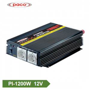 DC à AC Inverter 12V1200W Mudificatu die Wave Car Inverter