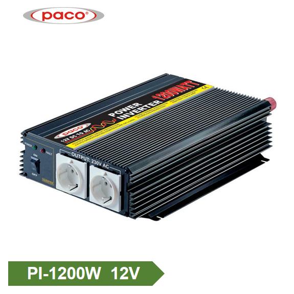 DC rau AC Inverter 12V1200W Hloov Sine Wave Tsheb Inverter Featured duab