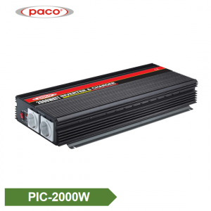 China PACO Manufacturer Power Inverter with Battery Charger 2000W CE CB ROHS