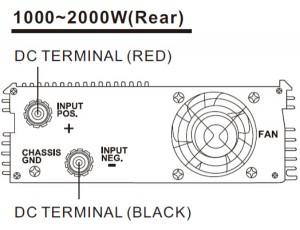 1000-2000WRear
