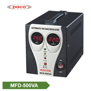 Stabilizer Voltage bide - display 500VA dîjîtal