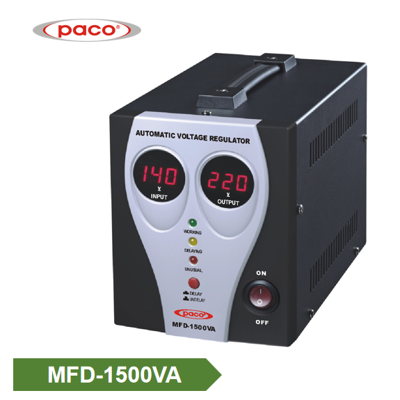 Manufacturer Lowest Price Ac 220v 1500w Electronic Voltage Regulator Delay Function Power Stabilizer Featured Image