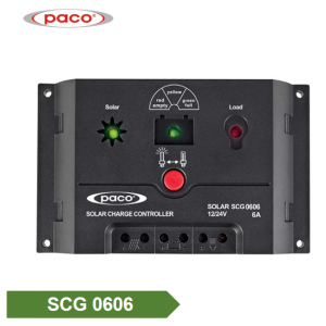 PACO Automatic 12V/24V 6A Solar Charge Controller PWM