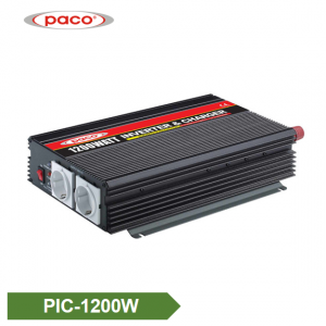 Power Inverter with Battery Charger 1200W