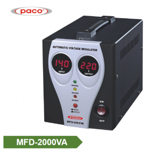 Stabilizer Voltage bide - display 2000VA dîjîtal