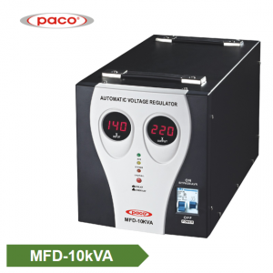 Stabilizer Voltage bide - display 10kVA dîjîtal