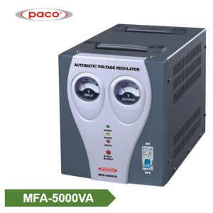 Automatic Voltage Stabilizer/Regulator – meter display 5000VA