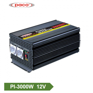 Inverter Power Off Grid 12V 3000W ຖືກແກ້ໄຂ Sine Wave Inverter