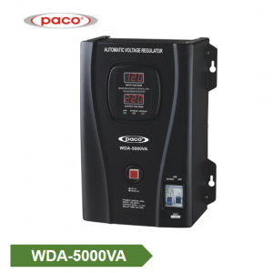 China Wall Mounted Voltage Regulator Supplier WDA-5000VA