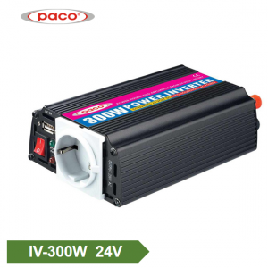 Kilang OEM untuk 300w 12v 24v Modified Sine Wave Power System Off Grid Inverter dengan USB