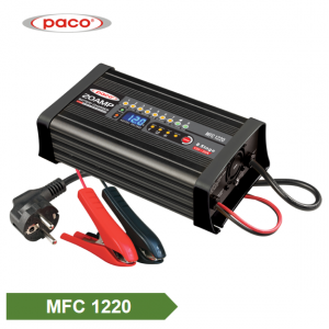 PACO Battery Charger 12V 20A with 8 Charging Stage & 4 Mode