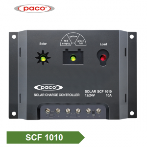 PACO Brand Automatic 12V/24V 10A Solar Battery Charge Controller