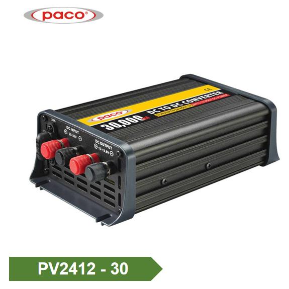 डीसी डीसी कनवर्टर 24V 12V पावर कनवर्टर 30Amp विशेष रुप से प्रदर्शित छवि के लिए