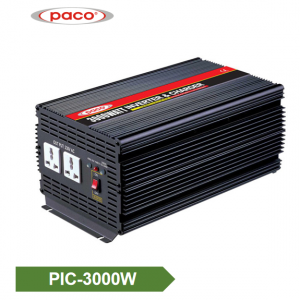 PACO Factory off grid Power Inverter with Battery Charger 12V 3000W ROHS CE CB