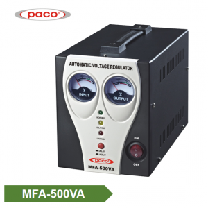 Automatic Voltage Stabilizer – meter display 500VA