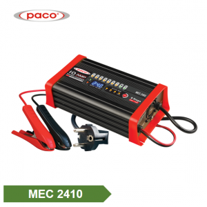 Zhongshan Factory PACO Automatic Charging 24V 10A 8 Stage Car Battery Charger