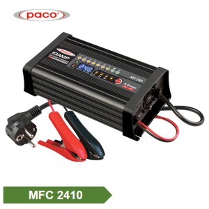China Manufacturer 8 Charging Stage Intelligent Battery Charger 24V 10A with Four Selectable Mode