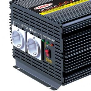 Шинээр 12V 3000W Хувиргасан синус долгионы Inverter Off Power Inverter