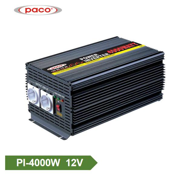 Tawm daim phiaj fais fab inverter12V 4000W Hloov Sine Wave Inverter Featured duab