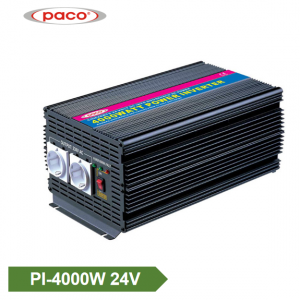 Auto Power Inverter 24V 4000W Modificēts Sine Wave Inverter