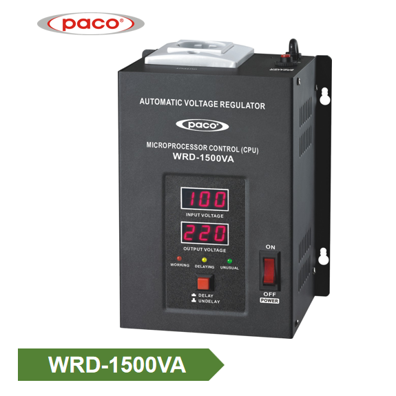 Factory Bottom price Mingch Tsd Series Wall Mounted 1500va Single Phase Voltage Stabilizer Featured Image
