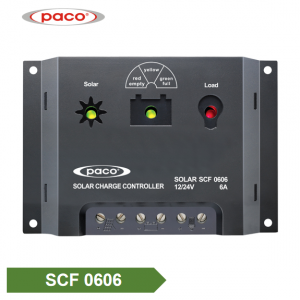 PACO 12V/24V 6A Solar Battery Charge Controller Manufacturer