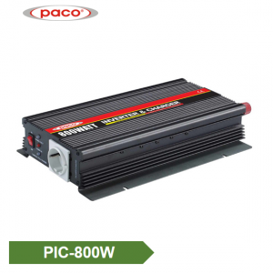 Power Inverter with Battery Charger 800W