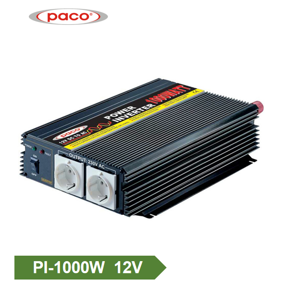 Car Power Inverter 12V1000W Binagong sine Wave Inverter Itinatampok na Larawan