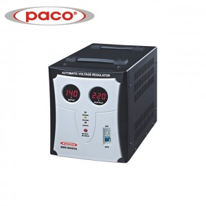 PACO Hot Selling Automatic Voltage Stabilizers/Regulators 5000VA Manufacturer Price