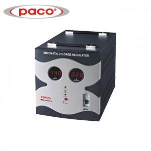 Factory Whole Price Automatic Voltage Stabilizer/Regulator – digital display output power 5000VA