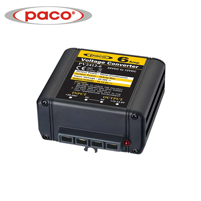 China PACO DC To DC Power Converter 6Amp Manufacturer CE CB ROHS Featured Image