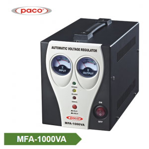 Automatic Voltage Stabilizer – meter display 1000VA