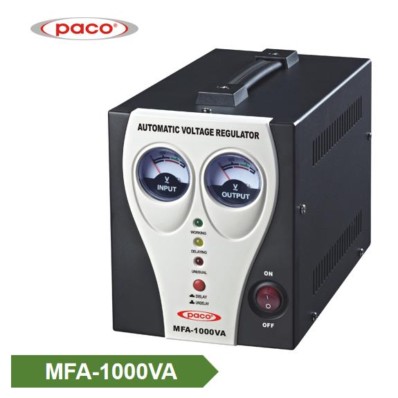 Automatsko napona stabilizator - prikaz 1000VA metar Istaknuto slika