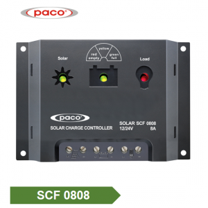 Factory Price Automatic 12V/24V 8A Solar Battery Charge Controller