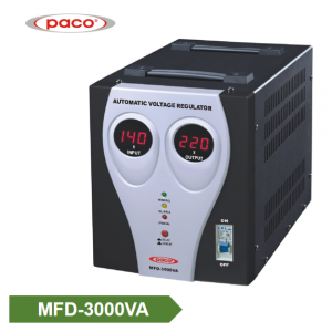 Stabilizer Voltage bide - display 3000VA dîjîtal
