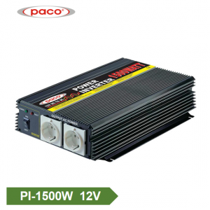 DC à AC Inverter 12V 1500W Mudificatu die Wave Inverter