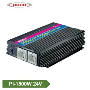 Auto Power Inverter 24V 1500W Modificēts Sine Wave Inverter