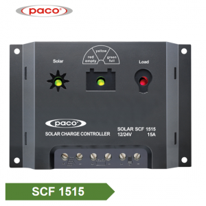PACO Brand 3 Stage Automatic 12V/24V 15A Solar Charge Controller Factories