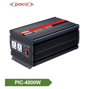 Power Inverter with Battery Charger 4000W