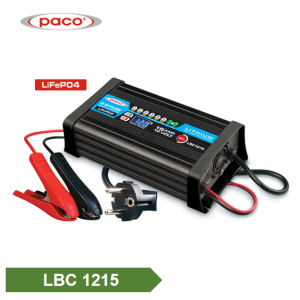 8 Stage Charging Model with Maintain Function 12V 15A Automatic lithium LiFePO4 Battery Charger
