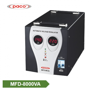 Stabilizer Voltage bide - display 8000VA dîjîtal