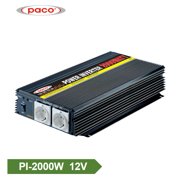 Эрчим хүчний Inverter 2000W12V синус долгионы Inverter Онцлох дүрсийг Хувиргасан