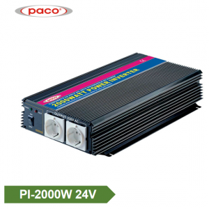 Off Grid Inverter 24V 2000W Modificēts Sine Wave Inverter
