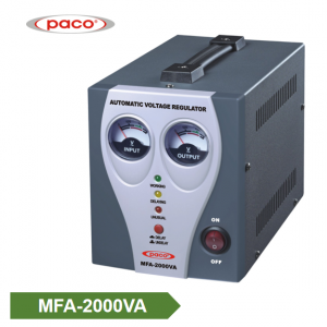 Automatic Voltage Stabilizer – meter display 2000VA