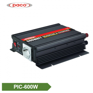 Power Inverter with Battery Charger 600W