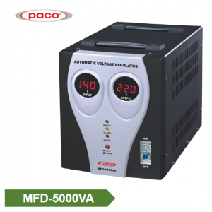 Stabilizer Voltage bide - display 5000VA dîjîtal